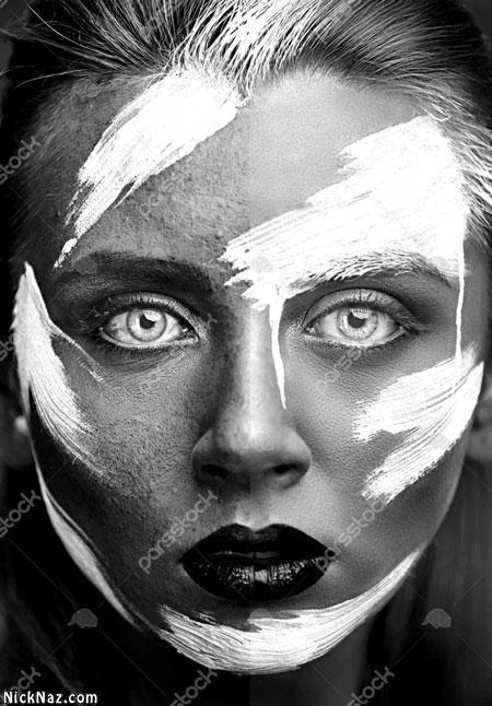 عکس سیاه و سفید طبیعت