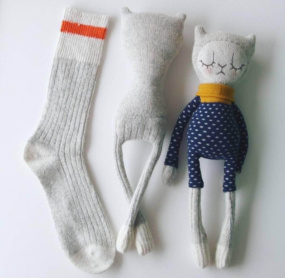 آموزش ساخت عروسک با جوراب ساده