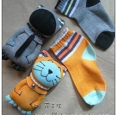 مدل عروسک سازی با جوراب