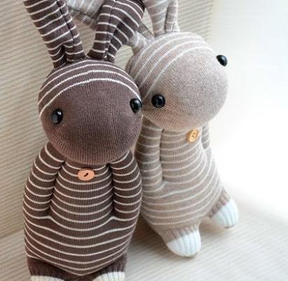 مدل ساخت عروسک با جوراب