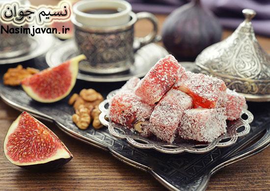 طرز تهیه باسلوق ژله ای برای شب یلدا