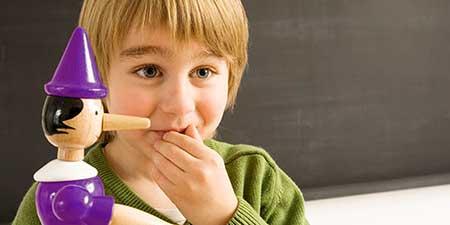 علل دروغگویی در کودکان،بچههای درغگو