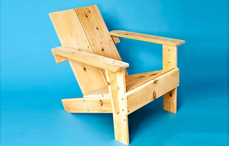 صندلی چوبی ؛ چگونه با استفاده از تخته یکی صندلی چوبی بسازیم؟