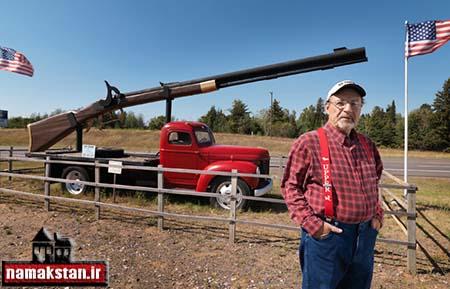 عجیب ترین رکورد گنیس بزرگ ترین تفنگ دنیا