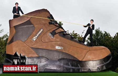 عجیب ترین رکورد گنیس بزرگترین کفش جهان