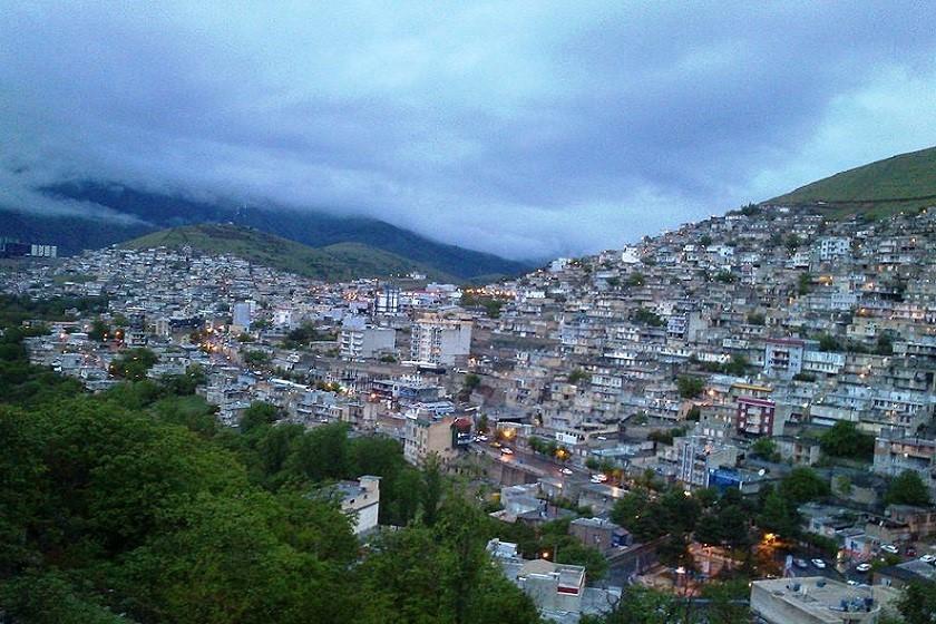 شهر زیبای پاوه بزرگترین شهر منطقه اورامان