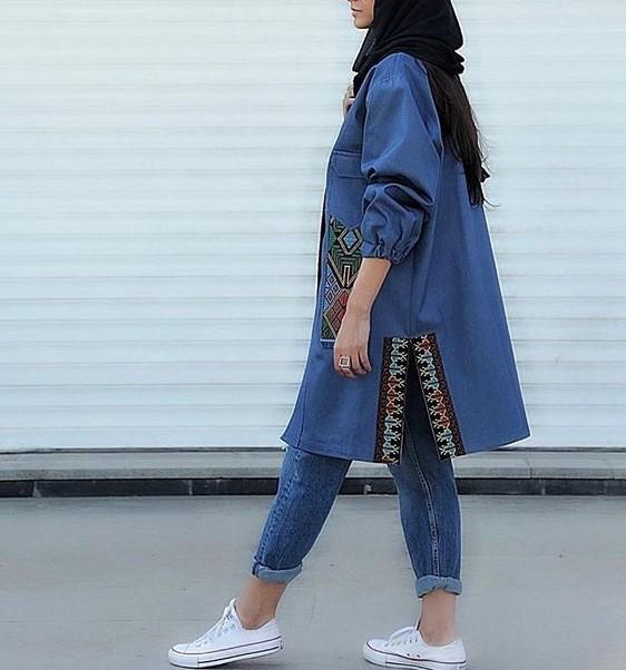 مدل مانتو سنتی دخترانه جدید