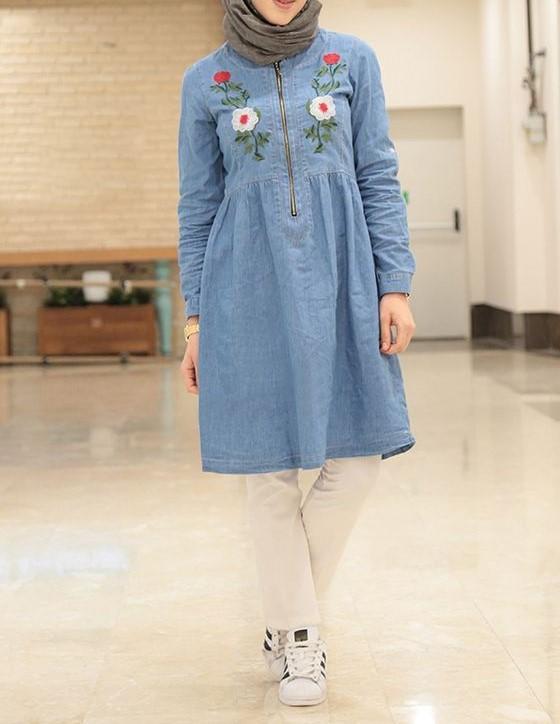 مدل مانتو لی دخترانه جدید