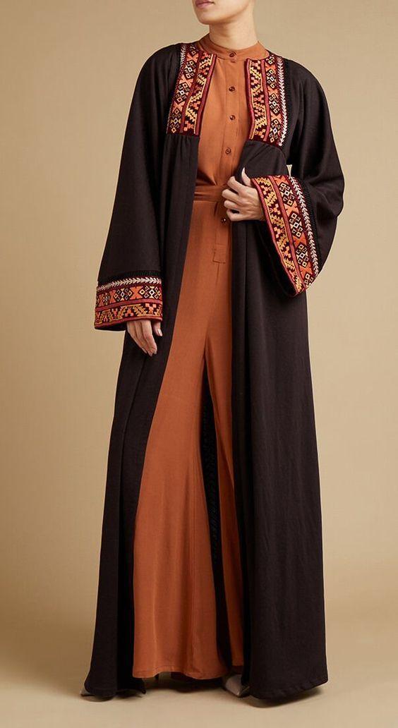 مدل مانتو سنتی بلند شیک