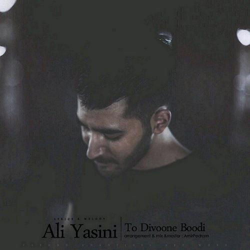 دانلود آهنگ زیبای علی یاسینی به نام تو دیوونه بودیم