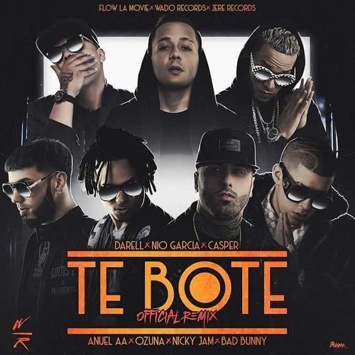 دانلود آهنگ  Bad Bunny& Ozuna & Nicky Jam& Darell & Nio Garcia & Casper Mágico & Flow La Movie  به نام   (Te Boté (Remix