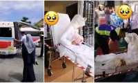 وقتي آمبولانس ماشين عروس مي شود