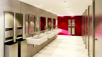 نظافت توالت عمومی، توالتهای فرنگی