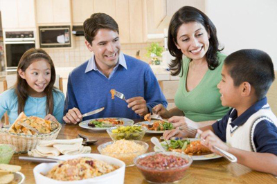 زمان مناسب برای خوردن ناهار، مواد غذایی مغذی