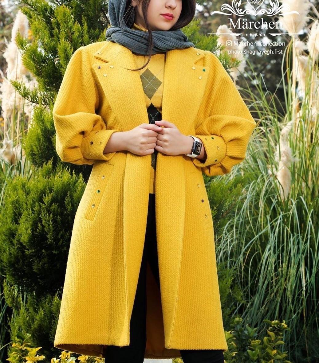 مدل پالتو دخترانه کوتاه جدید
