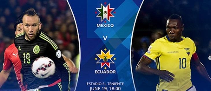 پایان بازی : اکوادور 2 - 1 مکزیک