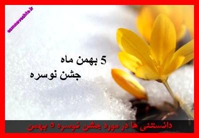 دانستنی ها در مورد جشن نوسره 5 بهمن