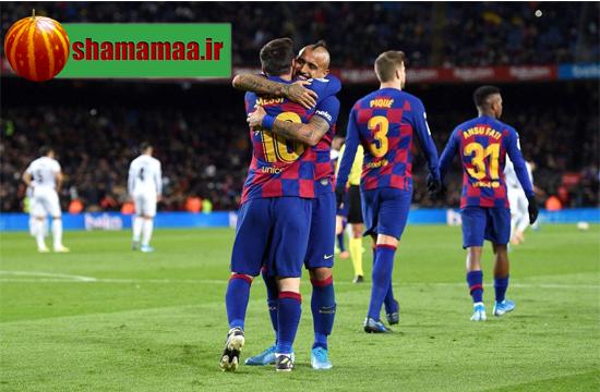 دانلود خلاصه بازی بارسلونا 1 گرانادا 0 دوشنبه 30 دی 98,گل بارسا به گرانادا 30 دی 98,گل بارسا به گرانادا دوشنبه 30 دی 98,گل مسی به گرانادا 30 دی 98, گل مسی به گرانادا دوشنبه 30 دی 98