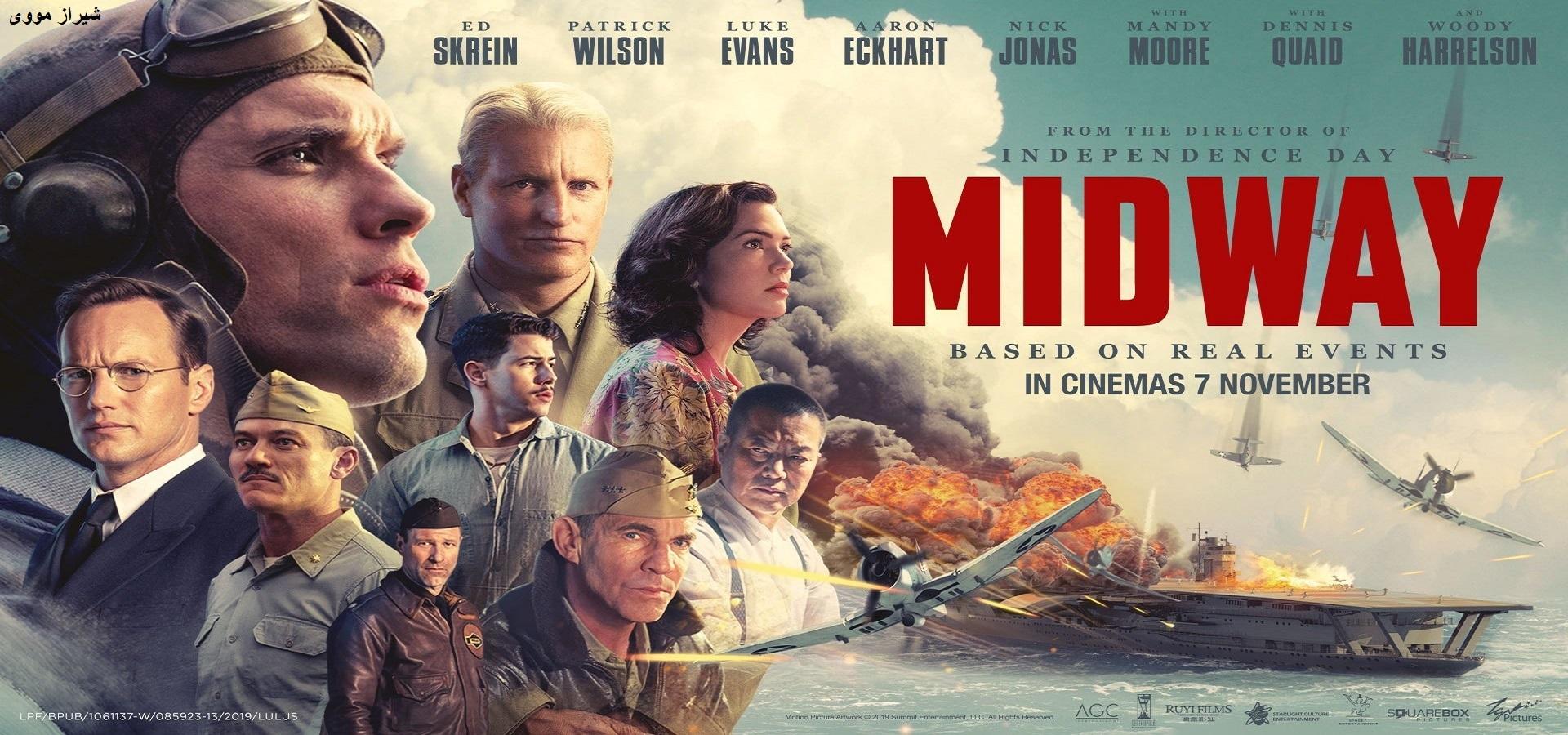 دانلود فیلم Midway 2019 میدوی با زیرنویس فارسی