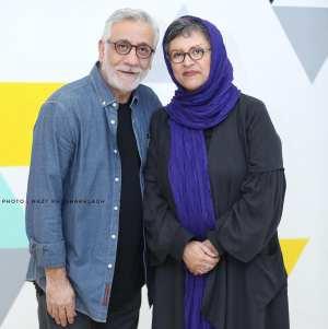 رويا تيموريان و مسعود رايگان در يک عکس