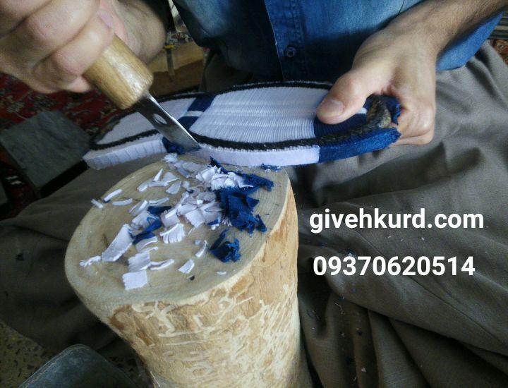 کارگاه تولید کفه گیوه کلاش کردستان