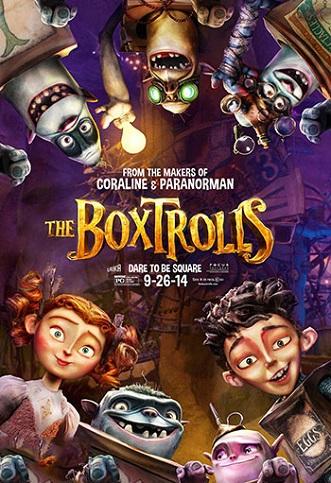دانلود انیمیشن غول های پاکتی The Boxtrolls 2014 با دوبله فارسی