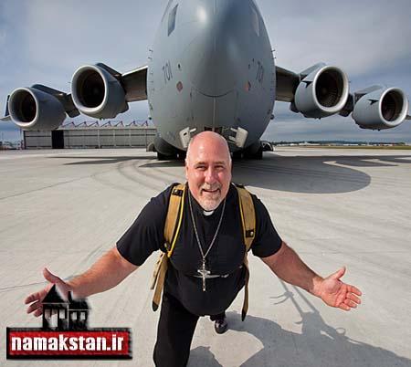 عجیب ترین رکورد گنی سکشیدن هواپیما توسط یک مرد