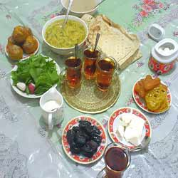 توصیه های مخصوص سحری و افطار