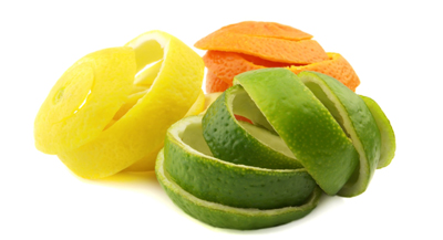 پوست میوه موز، هسته آناناس