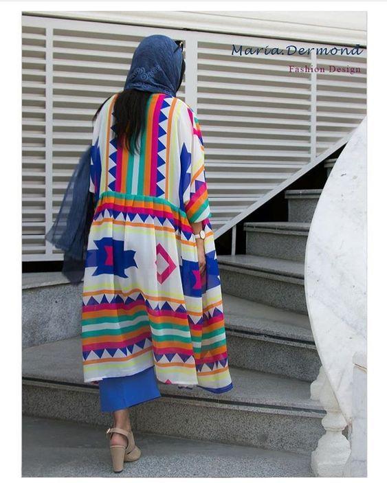 مدل مانتو شیک نوروزی بهاری 99
