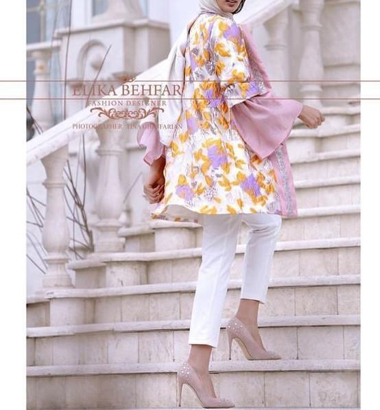 جدیدترین مدل مانتو عید و بهاری سال 99