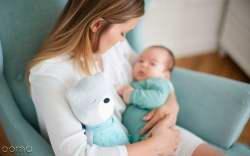 خواباندن نوزاد با صداي سشوار