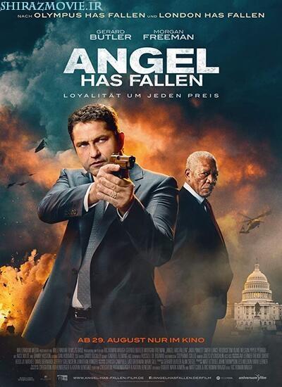 دانلود فیلم سقوط فرشته با دوبله فارسی Angel Has Fallen 2019