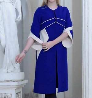مدل جديد مانتو با آستين هاي شيپوري