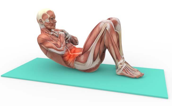 از بین بردن درد پشت، حرکت پیلاتس