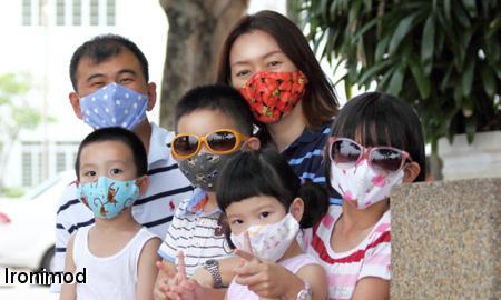 آموزش دوخت ماسک دهان قابل شستشو + عکس و الگو