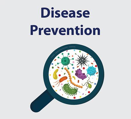 راههای پیشگیری از کرونا، پیشگیری از بیماری واگیردار