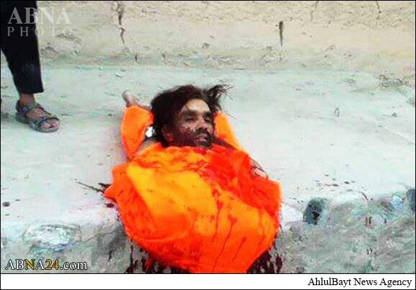 ذبح کردن یک افغانی توسط داعش