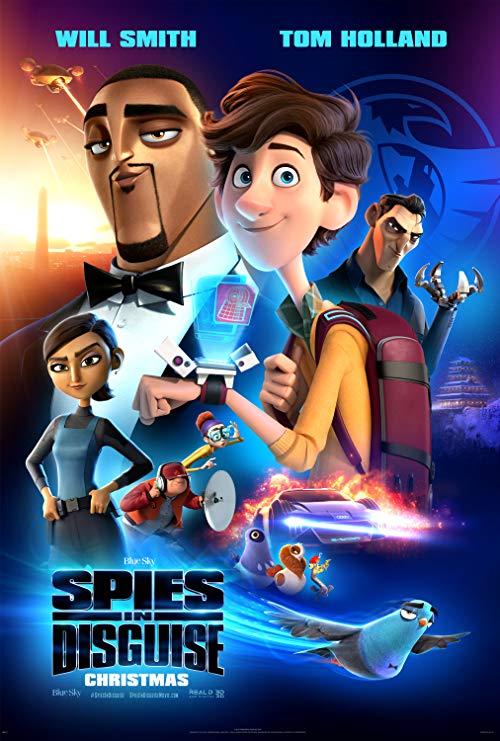 انیمیشن Spies in Disguise 2019 دوبله فارسی