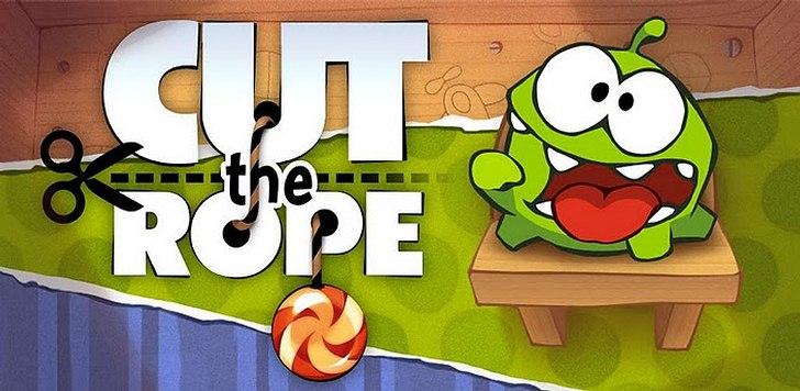 دانلود بازی جذاب Cut the Rope HD (طناب را ببر) اندروید