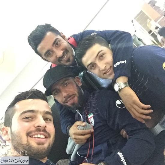 بازکنان تیم ملی فوتبال ایران در استرالیا