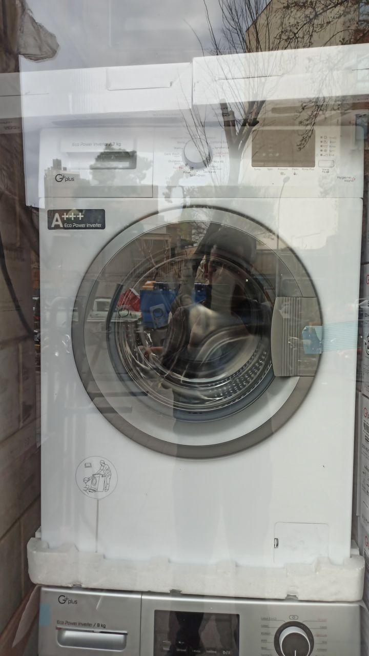 ماشین لباسشویی جی پلاس 8 کیلویی 1200 دور مدل 82b13