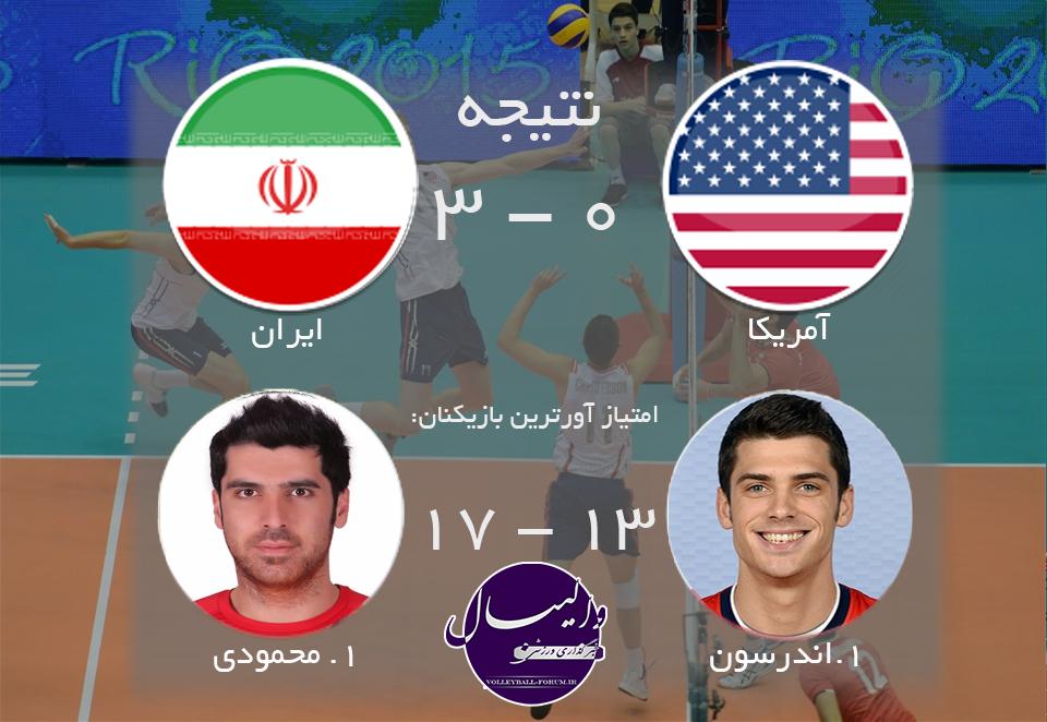 ایران طعم اولین شکست را به آمریکا چشاند!
