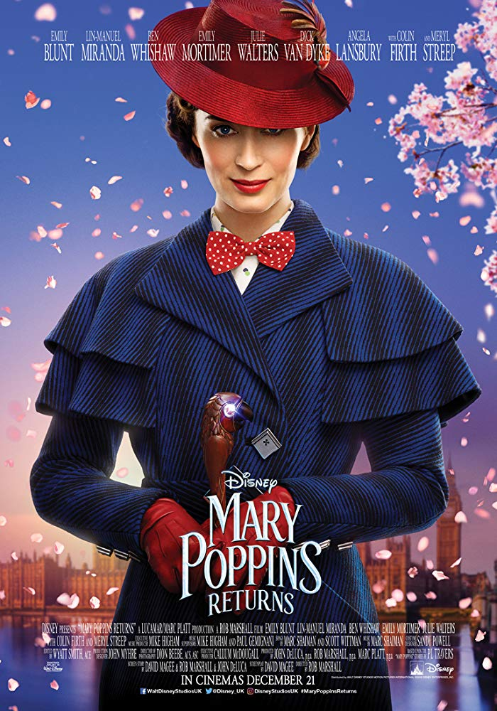 Mary Poppins Returns 2018