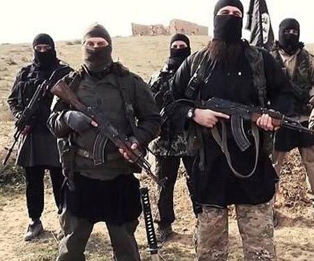 انبار پول داعش +عکس