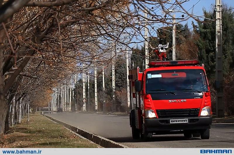 کاربری آتش نشانی، دستاورد دیگر بهمن دیزل در سال 98