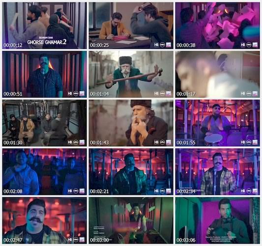 بهنام بانی-موزیک ویدئو قرص قمر2