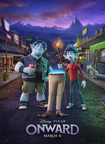 دانلود انیمیشن به پیش دوبله فارسی 2020 Onward