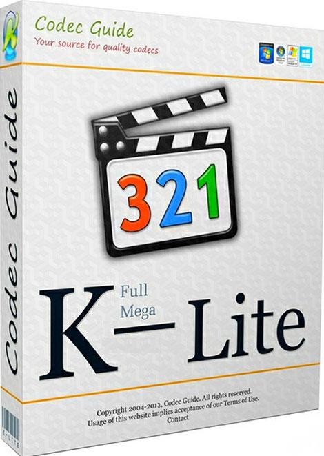دانلود نرم افزار کاربردی کی لایت K-Lite Codec Pack Mega 14.5.5