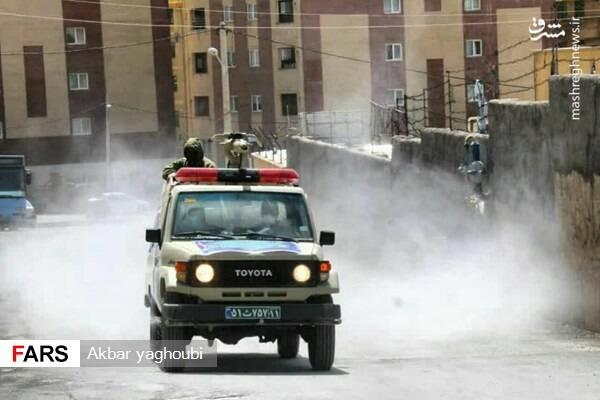 جزئیات اقدامات سپاه در مبارزه با کرونا+عکس